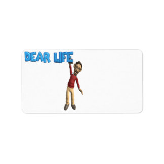 Dear Life Label