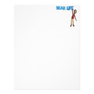 Dear Life Personalized Letterhead