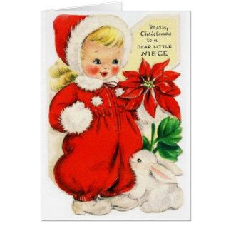 Dear Little Niece Card