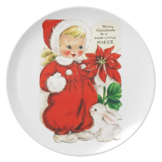 Dear Little Niece Plate