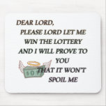 DEAR LORD MOUSE PAD