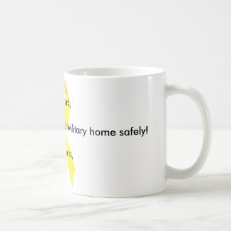 Dear Lord Please bring our Deployed Military home! Classic White Coffee Mug