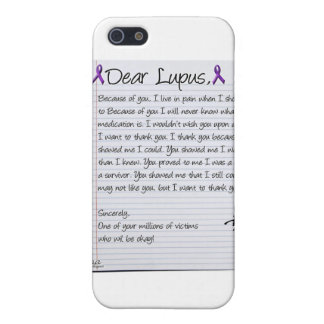 Dear Lupus.. Cover For iPhone SE/5/5s