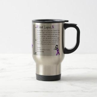 Dear Lupus.. Travel Mug