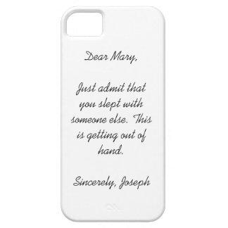 Dear Mary Phone Case iPhone 5 Cases