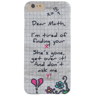 Dear Math Barely There iPhone 6 Plus Case