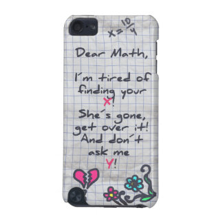 Dear Math iPod Touch (5th Generation) Cover