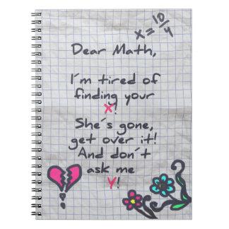 Dear Math Notebook