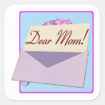Dear Mom Sticker