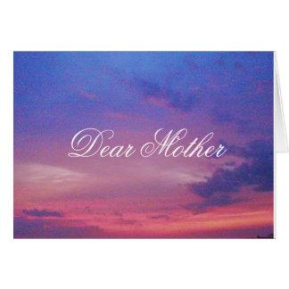 DEAR MOTHER card