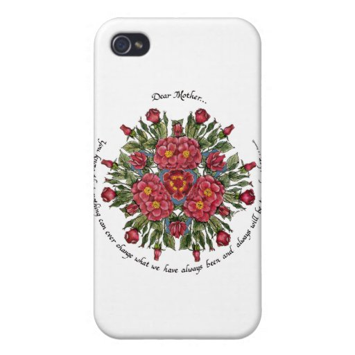 Dear Mother Cover For iPhone 4