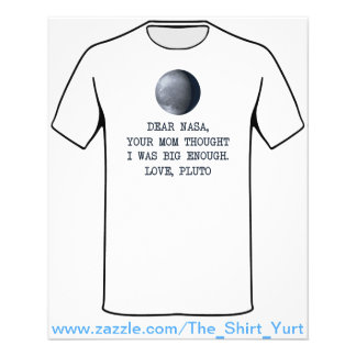 Dear Nasa Love Pluto Flyer