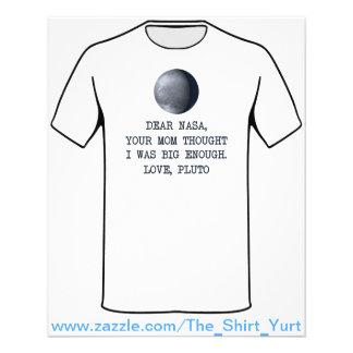 Dear Nasa Love Pluto Flyer