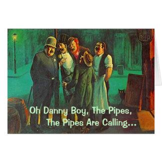 Dear Neighborhood Friends Singing St Patricks Day Card