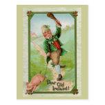 Dear Old Ireland! Vintage St. Patrick's Day Postcard