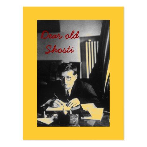 Dear old Shosti Postcard