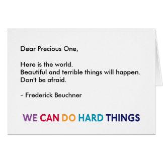 Dear Precious One WCDHT Greeting Card