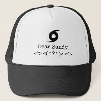 Dear Sandy Trucker Hat