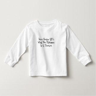 Dear Santa All I Want For Christmas Is A Tractor Toddler T-shirt