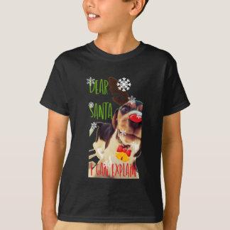Dear Santa Beagle T-Shirt