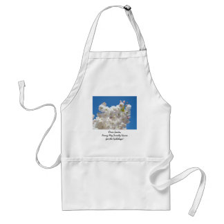 Dear Santa Bring my Family Home for the Holidays! Aprons
