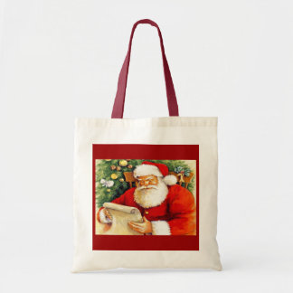 Dear Santa Budget Tote Bag