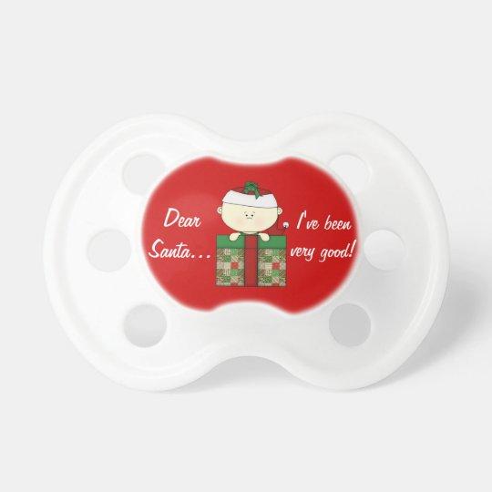 Dear Santa-Christmas Baby Pacifier