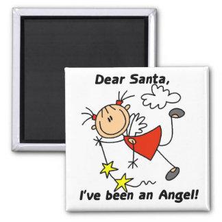 Dear Santa Christmas Tshirts and Gifts Magnet