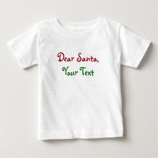 Dear Santa Custom T Shirt