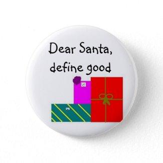 Dear Santa, define good button