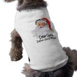 Dear Santa Define Good Doggie Tee Shirt