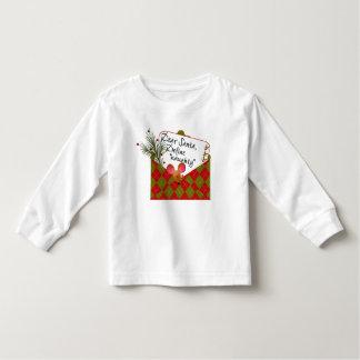 Dear Santa...Define Naughty T-shirt