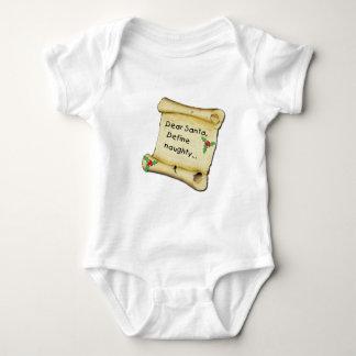 Dear Santa...Define Naughty T-shirts, Baby Clothes Baby Bodysuit
