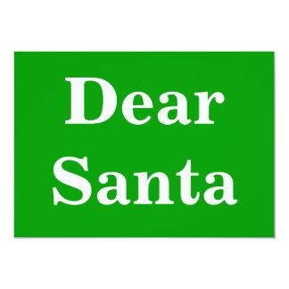 Dear Santa Gr Card
