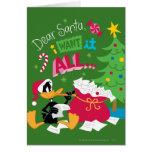 Dear Santa Greeting Cards