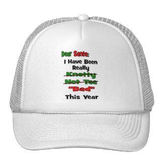 Dear Santa Trucker Hats