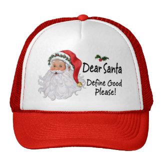 Dear Santa Mesh Hats