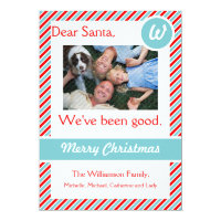 Dear Santa Holiday Photo Card