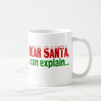 Dear Santa I Can Explain Mug