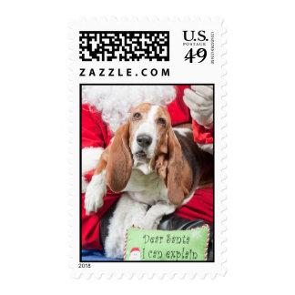Dear Santa I Can Explain Stamps
