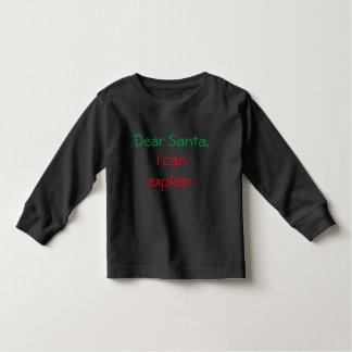 Dear Santa, I can explain Shirt