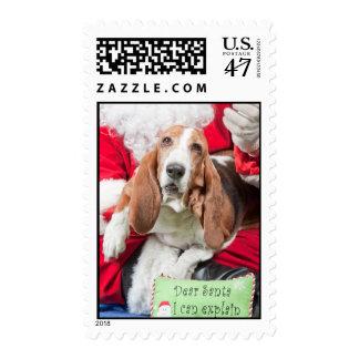 Dear Santa I Can Explain Stamp