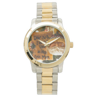 Dear Santa I Could Use A Hug Wrist Watch
