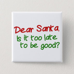 Late christmas gift note