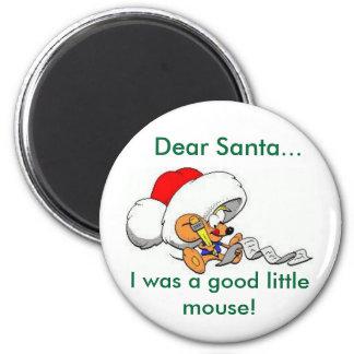 Dear Santa Mouse Magnet