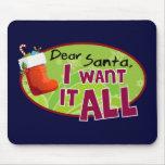 Dear Santa Mousepad
