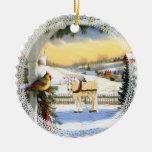 Dear Santa Ornament