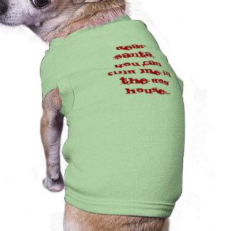 Dear Santa Pet T-shirt