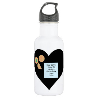 Dear Santa - Please Bring Toys Stainless Steel Water Bottle