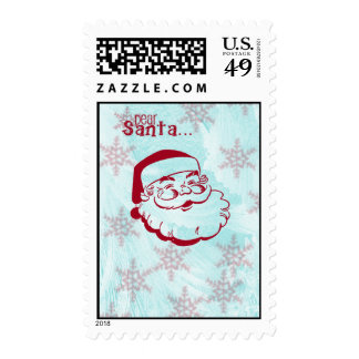 Dear Santa Stamp